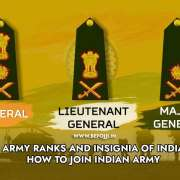 ARMY RANKS AND INSIGNIA OF INDIA – HOW TO JOIN INDIAN ARMY